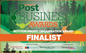 Nottingham post awards not for profit organisation 2017